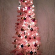 pink tree!