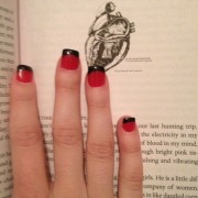 Warm Bodies inspired nails