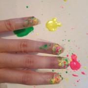 How To Paint Splatter