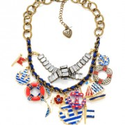 Multi Anchor Necklace