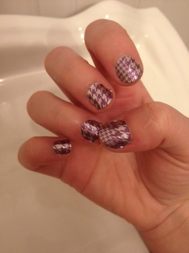Incoco Houndstooth Twist
