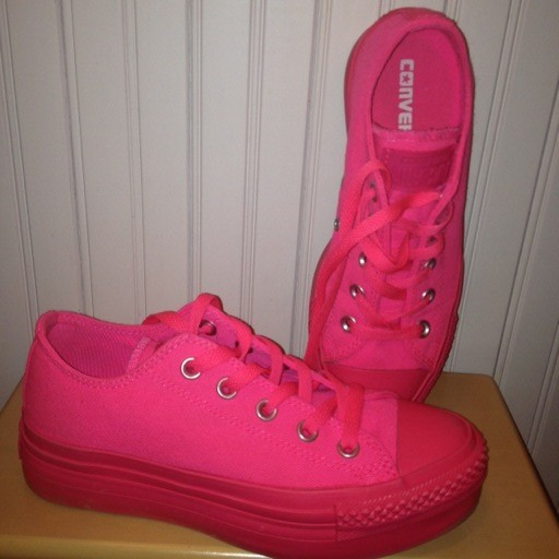 Knock Out Pink Converse