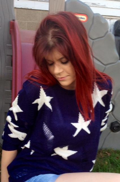 RippedStarSweater
