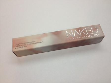 Naked Lipgloss box