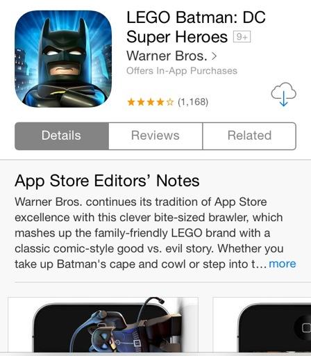 Lego Batman App