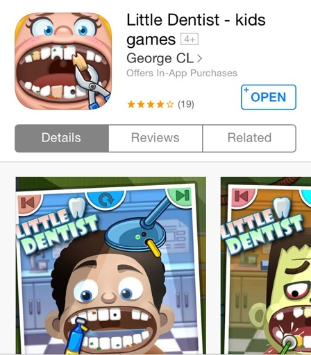 Little Dentist App