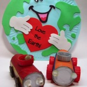 Recycled Toy Cars- Earth Day Project | Skinny Jeans & Sippy
