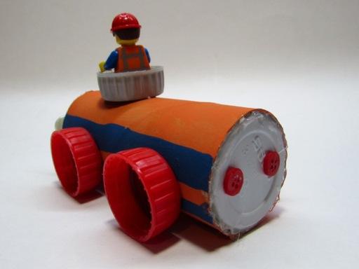 back of Lego car