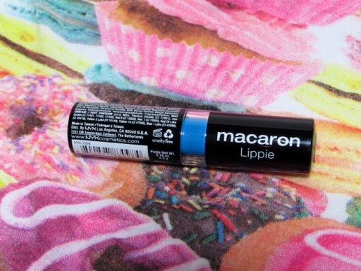 Macaron Blue Velvet