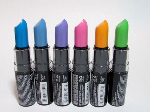 NYX Macaron Lipsticks