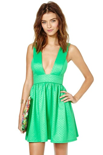 Nasty Gal Mermaid dress