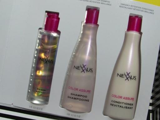 Nexxus Color Assure samples