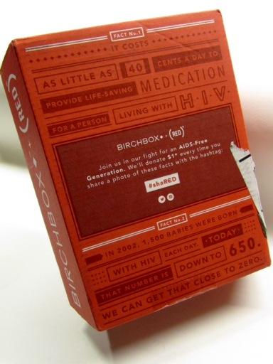 Birchbox Red