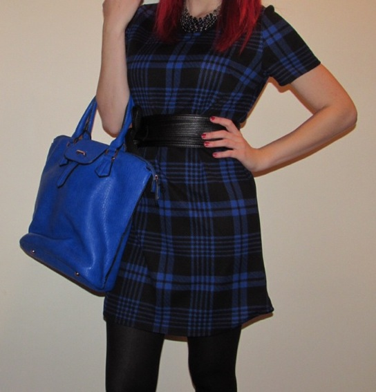 Blue Office Plaid