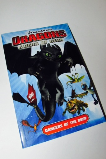 DreamWorks Dragons Book