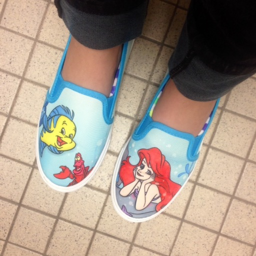 Little Mermaid SlipOns