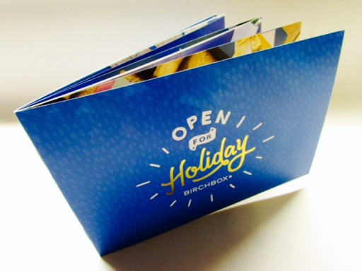Open For Holiday Booklet