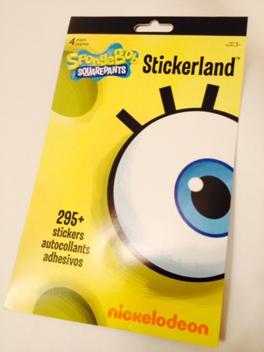 Spongebob Stickerland