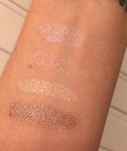 The Royal Set swatches