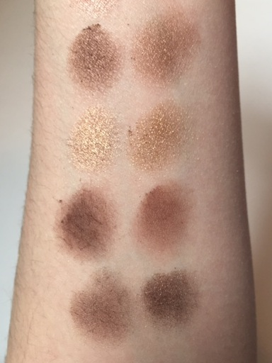 Chocolate swatches 2