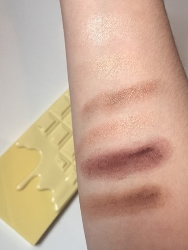 Naked Chocolate swatches